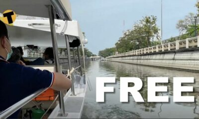 Green transport in Bangkok's khlongs, and it's free | VIDEO | Thaiger