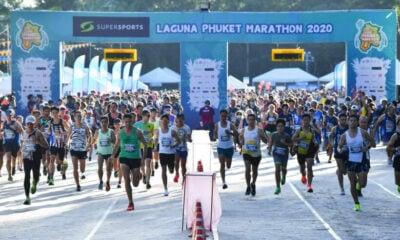The 2020 Supersports Laguna Phuket Marathon has been run and won, despite all the challenges   Thaiger