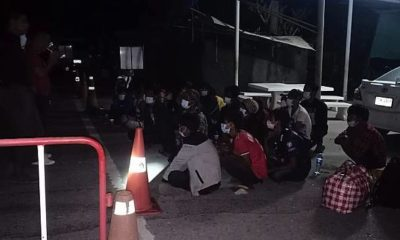 25 Burmese arrested for allegedly crossing the Thai-Myanmar border illegally | The Thaiger
