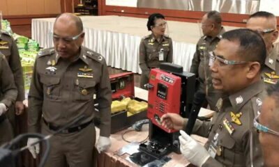 500 kilograms of methamphetamine found hidden in phone booth call boxes | The Thaiger
