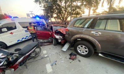 2 motorbike riders killed in Bangkok after woman allegedly falls asleep behind the wheel | Thaiger
