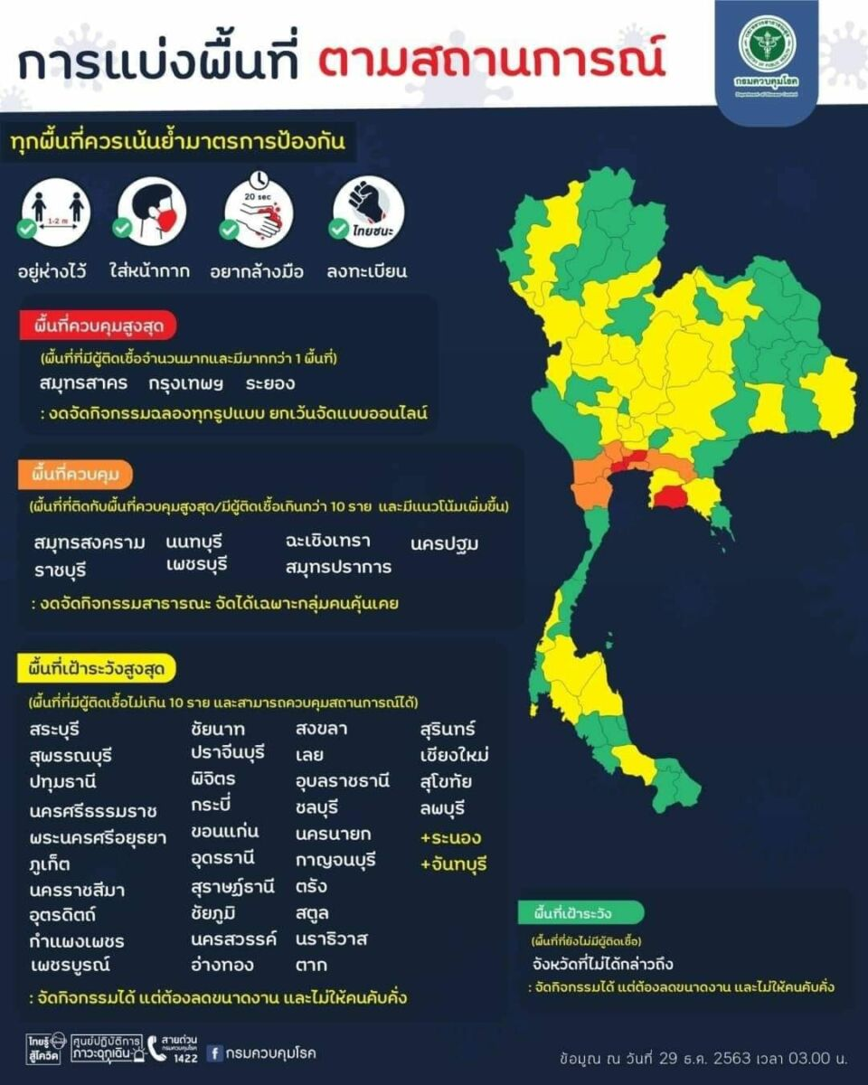 """Government bans gatherings that """"risk"""" Covid-19 transmission 