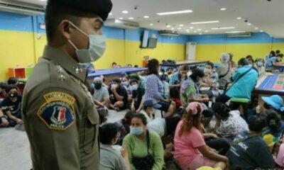 Police arrest 89 people in Bangkok gambling den raid | Thaiger