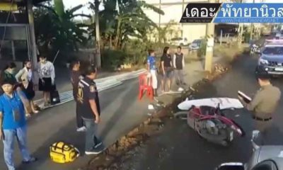 1 woman dies, another injured, after motorbike collides with truck in Chon Buri | Thaiger