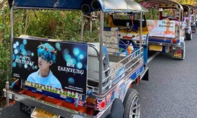 K-Pop fan-funded billboards move from BTS and MRT stations to tuks tuks to support protesters | The Thaiger