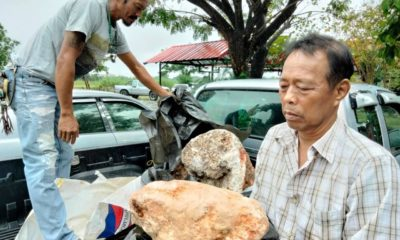 """Thai man could get $4.2 million USD for whale vomit known as """"floating gold"""" 