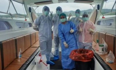 Foreign flagged yacht docks and completes quarantine in Phuket   The Thaiger