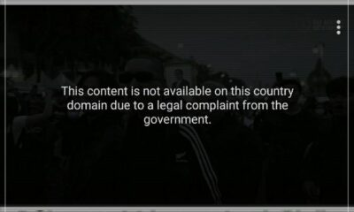 YouTube blocks music video with pro-democracy protest footage after legal complaint | Thaiger