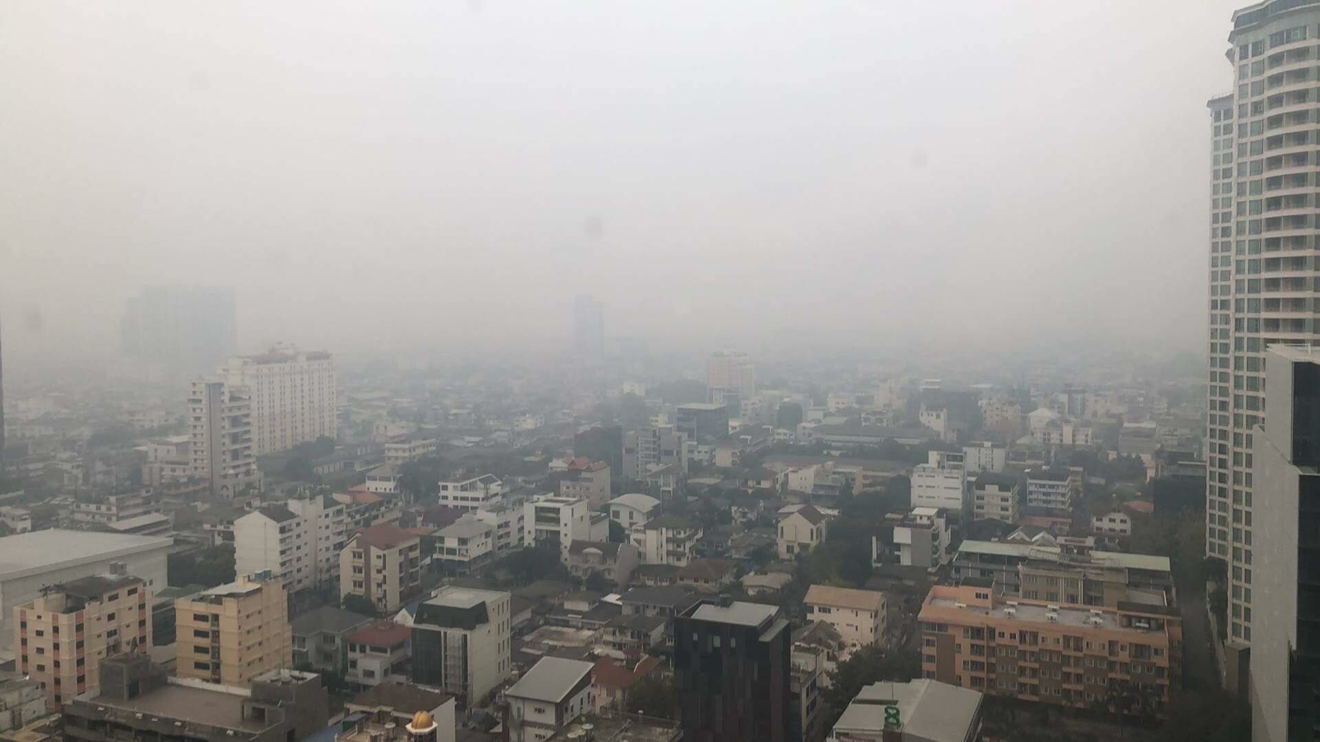 Bangkok's air quality is 'unhealthy' today | VIDEO | News by The Thaiger