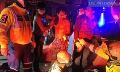 Angry passenger attacks motorbike driver following collision in Pattaya – VIDEO | Thaiger