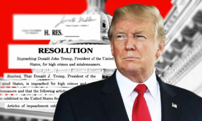 US President Trump impeached for a second time, releases video | VIDEO | Thaiger