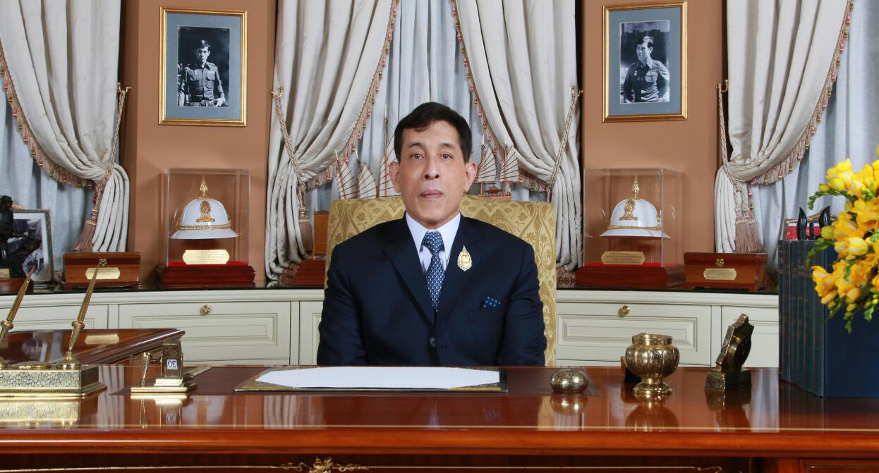 His Majesty presents televised end of year message | News by Thaiger
