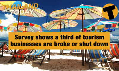 Thailand News Today | Survey shows a third of tourism businesses are broke or shut down | January 25 | The Thaiger