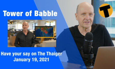 Tower of Babble, commenting about your comments – Tuesday, January 19 | VIDEO | The Thaiger