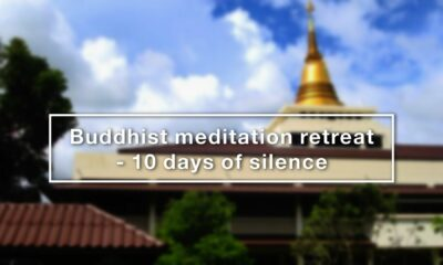 Can you survive 10 days of no talking, no phone? The Vipassana Silent Meditation Retreat | VIDEO | The Thaiger