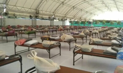Hundreds recover from Covid-19, released from Samut Sakhon field hospital   The Thaiger