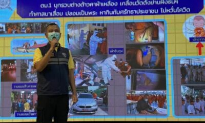27 migrants allegedly disguised as monks arrested on illegal entry charges, Bangkok abbot under investigation | The Thaiger