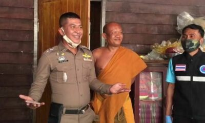 Monk arrested on drug charges, allegedly told police methamphetamine was a merit gift | Thaiger