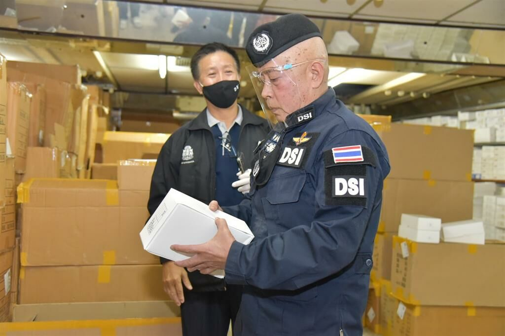 Man arrested for allegedly importing millions of fake designer sunglasses | News by Thaiger