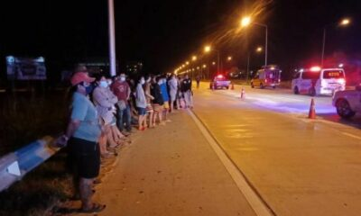 19 year old killed in motorbike street race accident in Chon Buri | Thaiger