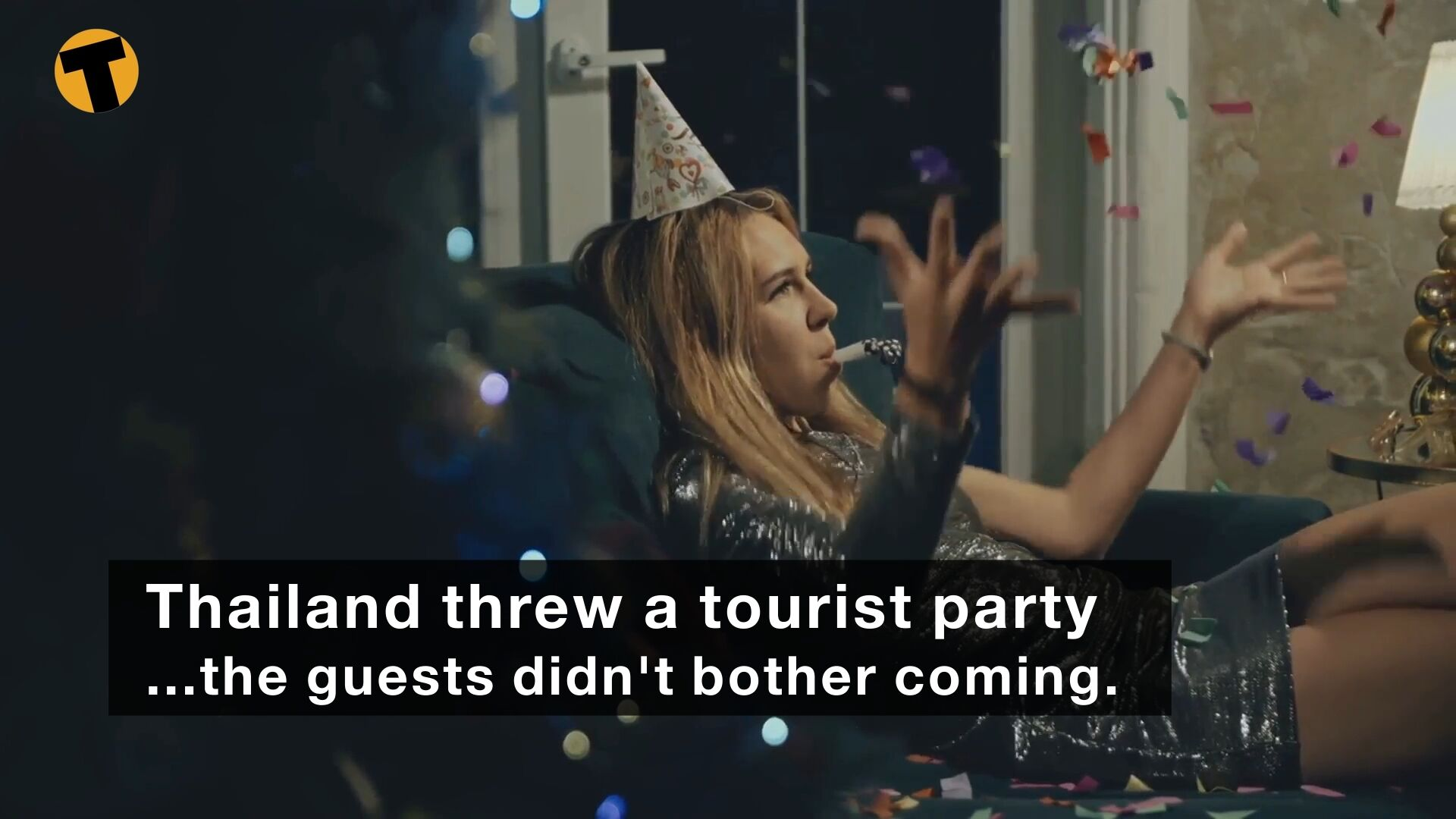 The Thai government threw a tourist party (sound of crickets) | VIDEO | The Thaiger