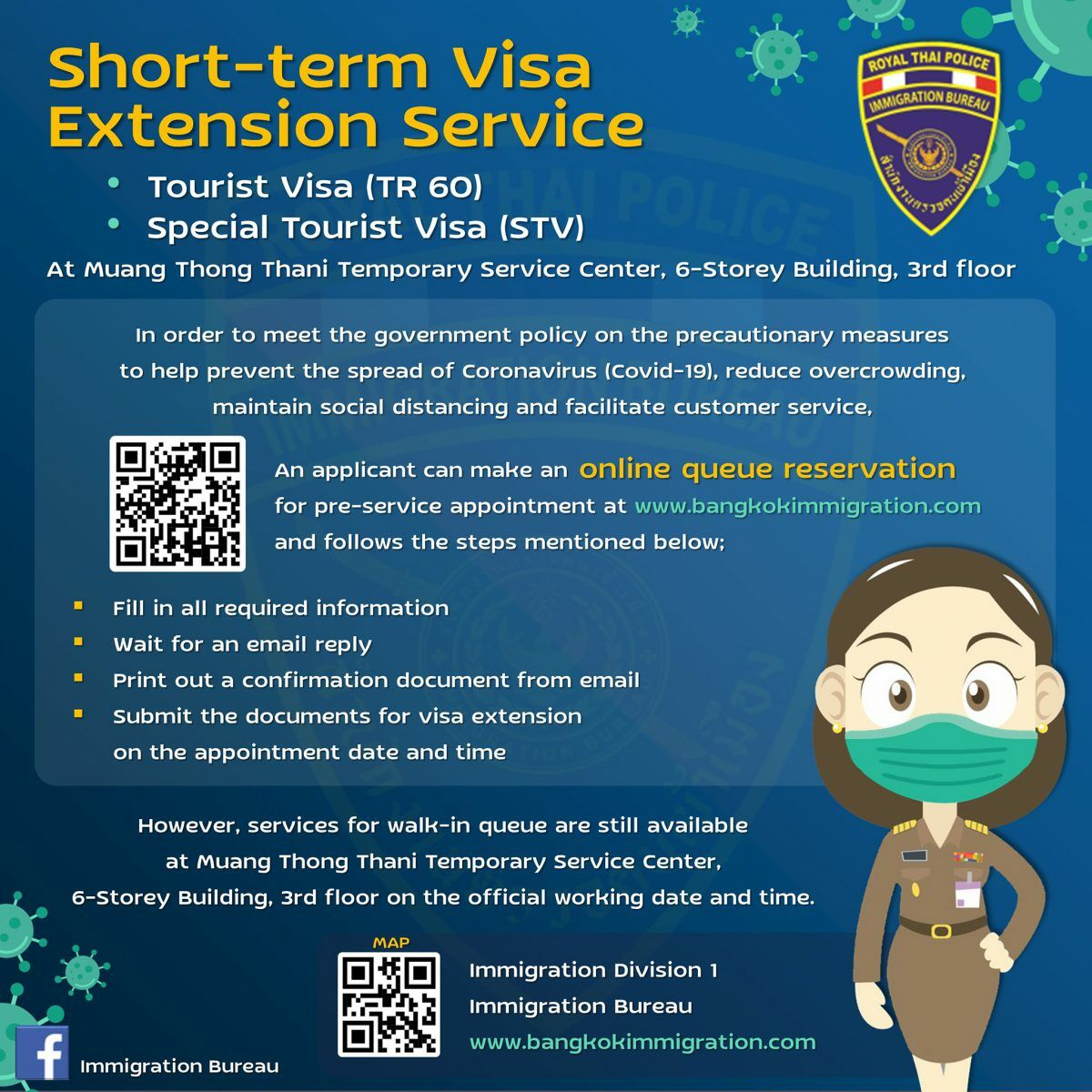 Make an appointment online for tourist visa extensions - Thai Immigration   News by Thaiger