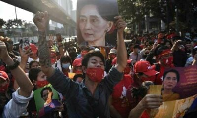 Court rejects police request to further detain 2 activists from Burmese embassy protest | The Thaiger