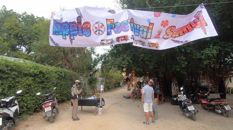 "Police raid ""Hippie Festival Samui,"" arrest French musicians for allegedly working without a permit 