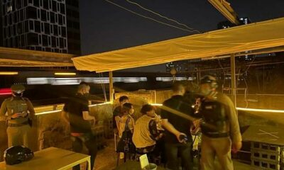 Police raid Bangkok bar, 13 people arrested for allegedly violating Emergency Decree | Thaiger