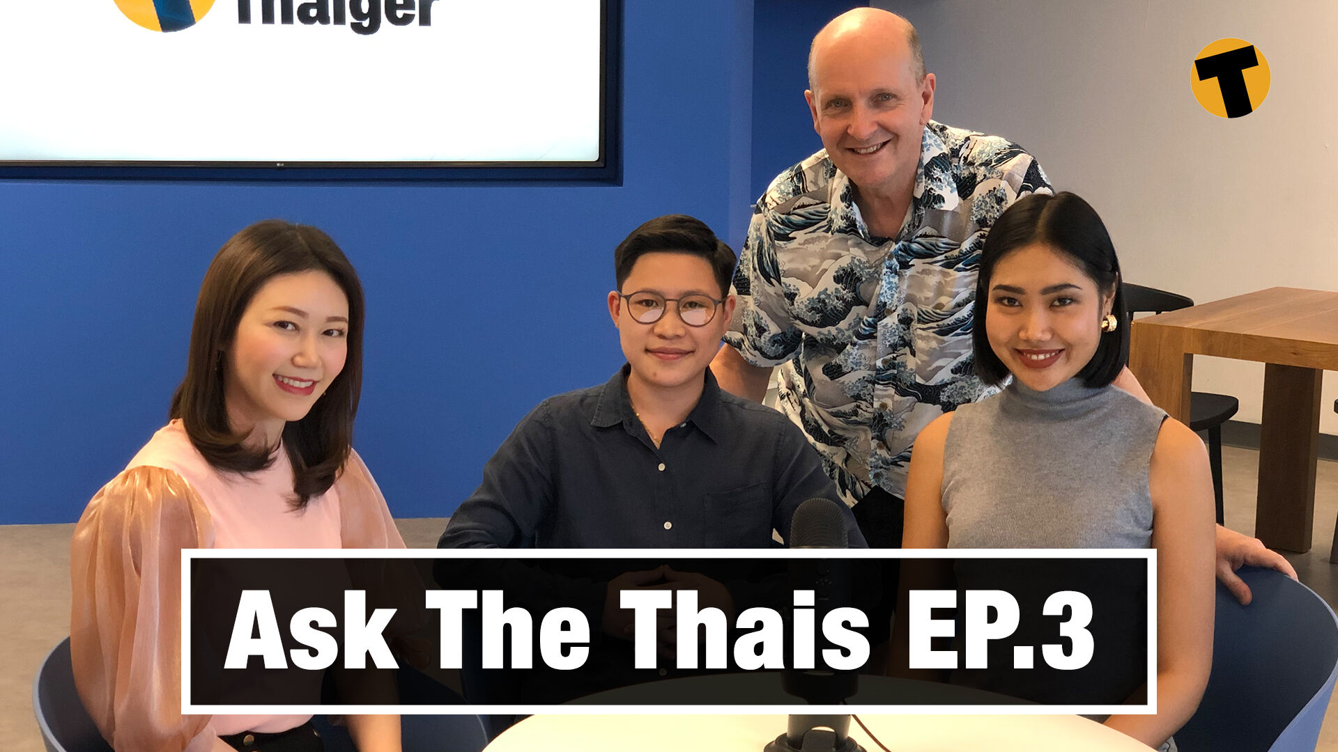 Ask The Thais | EP.3 | Ladyboys, Covid situation, Bad Students' protest | The Thaiger