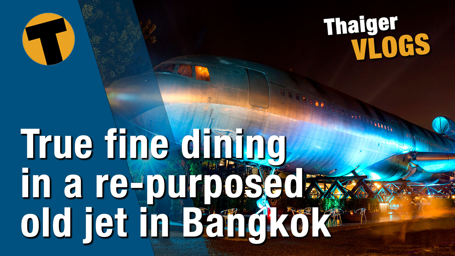 Flying high and fine dining in a re-purposed old jet in Bangkok | VIDEO | The Thaiger