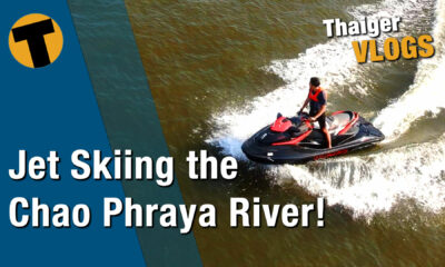 Thai temple tour, via a jet ski on Bangkok's Chao Phraya | VIDEO | Thaiger