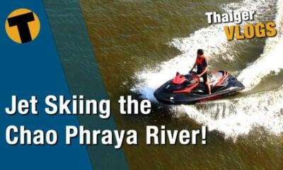 Thai temple tour, via a jet ski on Bangkok's Chao Phraya | VIDEO | The Thaiger
