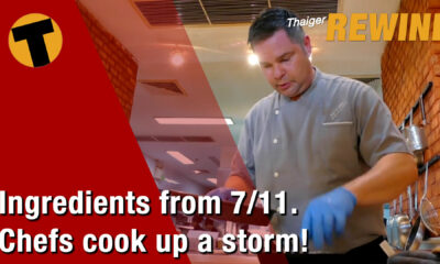 What can you cook up from a 7-11? l Chef Kai Kauder | VIDEO | The Thaiger