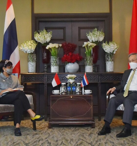Indonesian and Thai foreign ministers meet with Myanmar counterpart, seek peace after coup | The Thaiger