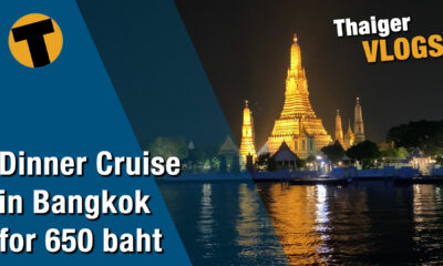 Dinner cruise in Bangkok on the Chao Phraya for only 650 baht | VIDEO | The Thaiger