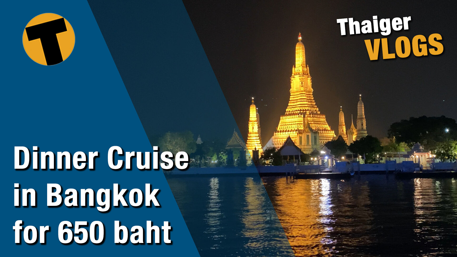 Dinner cruise in Bangkok on the Chao Phraya for only 650 baht   VIDEO   The Thaiger