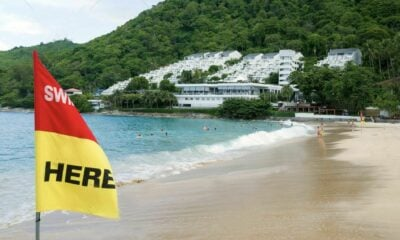 Phuket lifeguards warn beachgoers after 2 near-drownings in a day | Thaiger