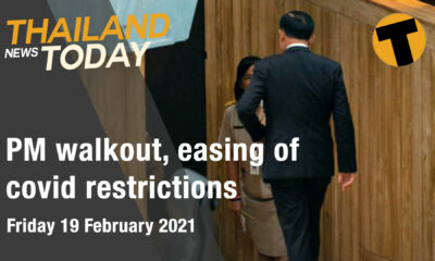 Thai PM walkout, easing of covid restrictions | February 19 | Thaiger