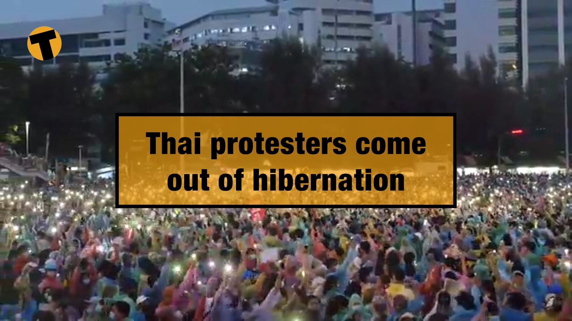 Thai protesters come out of hibernation, but has the movement run out of steam? | VIDEO | The Thaiger