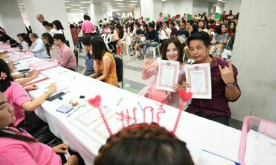 No Valentine's Day marriage licenses will be issued in Bangkok due to Covid-19 | Thaiger