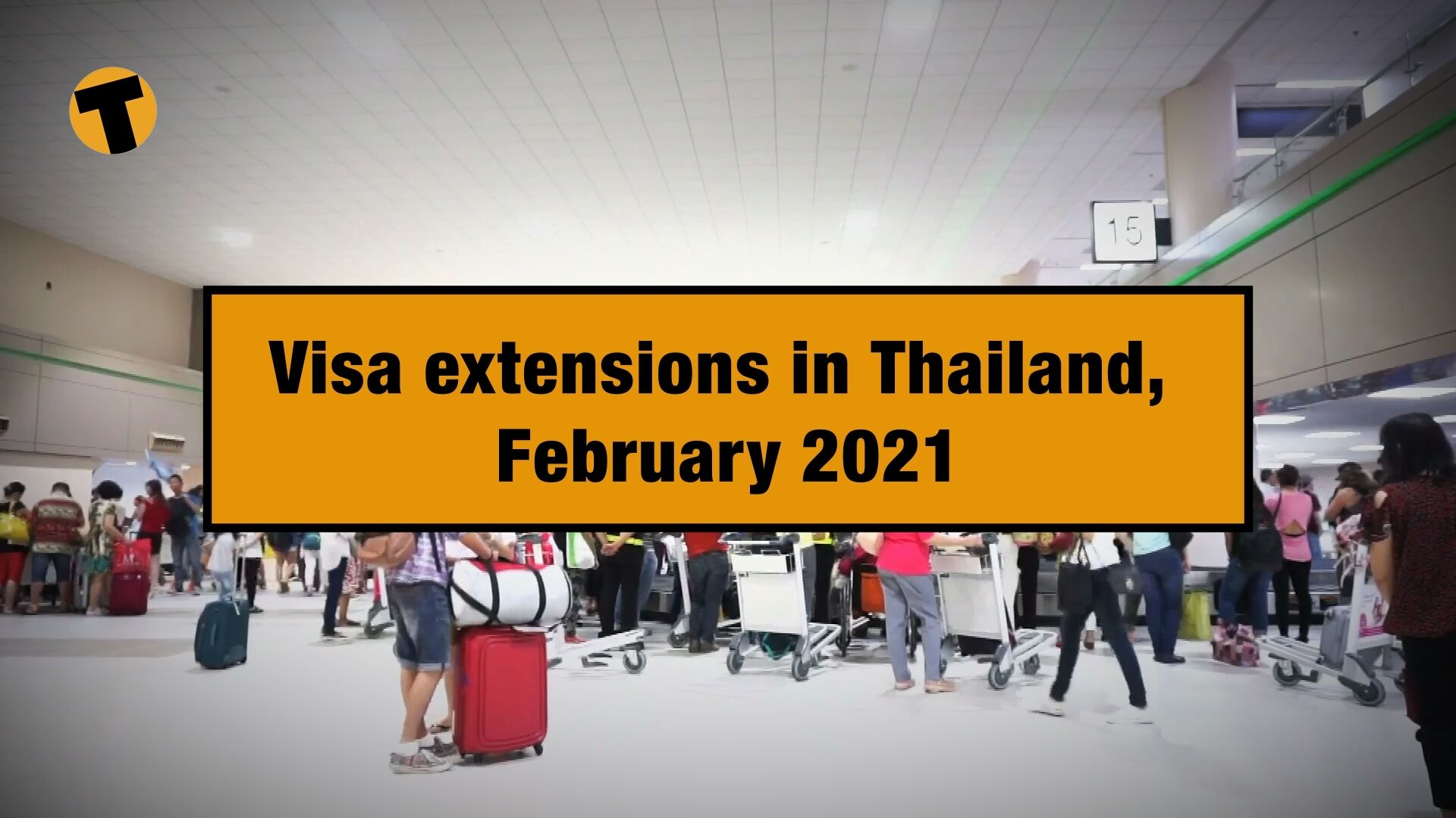 Visa extensions in Thailand for stranded tourists, February 2021 | VIDEO | The Thaiger