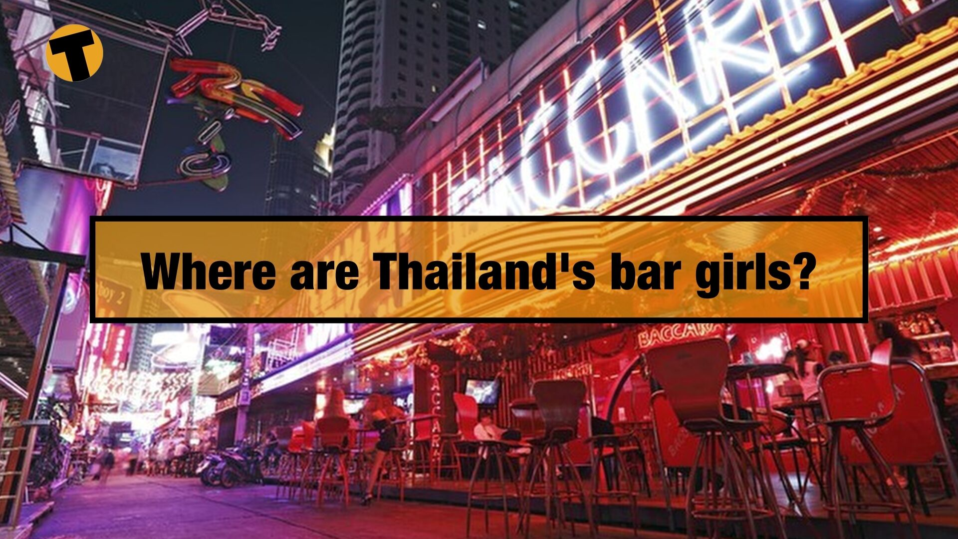 Where are Thailand's bar girls? Up to a million people out of work | VIDEO | The Thaiger