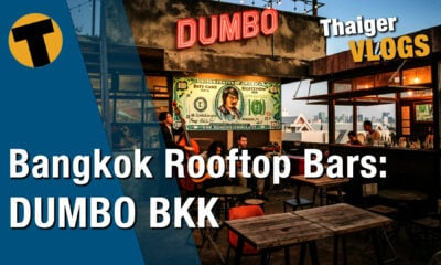 DUMBO the rooftop bar in Bangkok, a hidden gem | VIDEO | The Thaiger