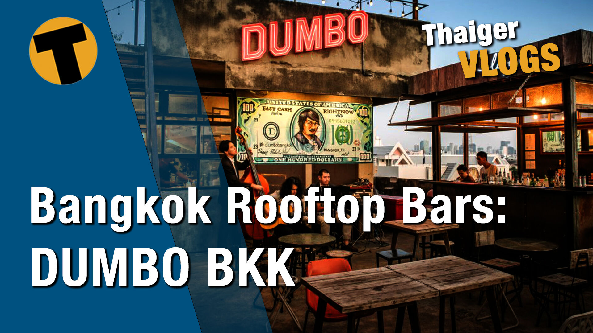 DUMBO the rooftop bar in Bangkok, a hidden gem | VIDEO | Thaiger