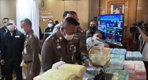 Police arrest 3 suspects allegedly involved in major drug smuggling operation | The Thaiger