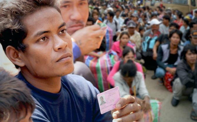 More than 600,000 migrants registered with Labour Ministry over the past month | The Thaiger
