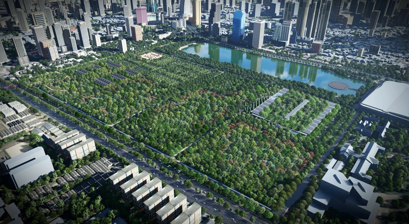Bangkok's future is green, forest park project set to finish next year   News by Thaiger