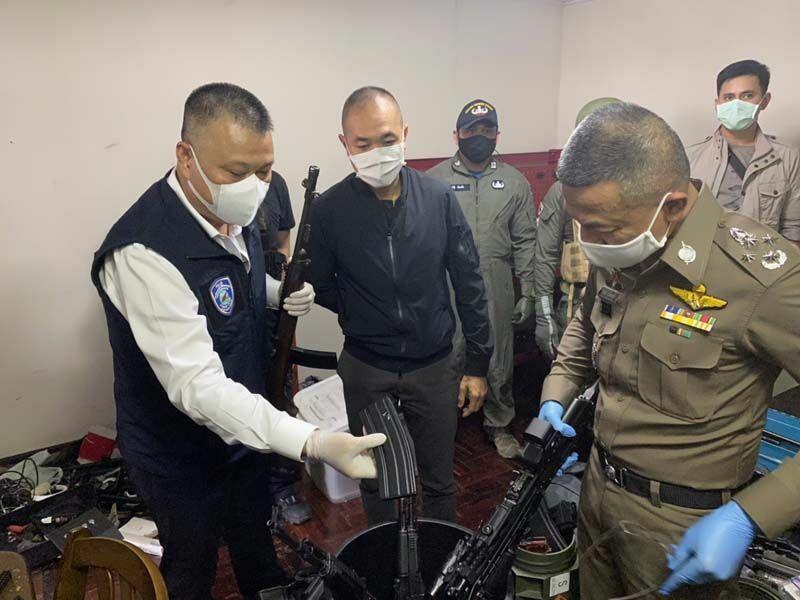 Man in Samut Prakan arrested for allegedly selling assault rifles on Instagram   The Thaiger
