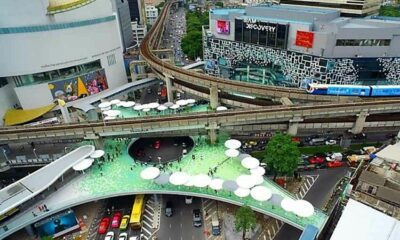 Bangkok police say over 1,000 officers to be deployed at MBK Skywalk rally today | Thaiger